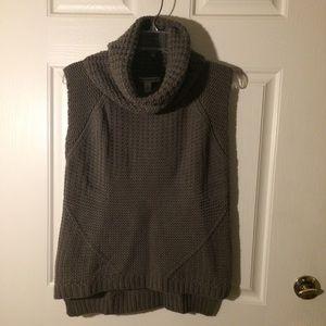 Autumn cashmere sleeveless cowl hi lo size s